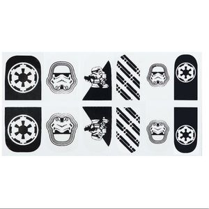 Rubie's Stormtroopers Star Wars Nail Stickers